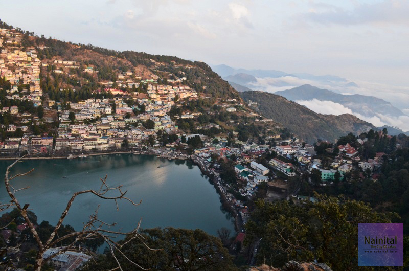 Nainital View From College Road.