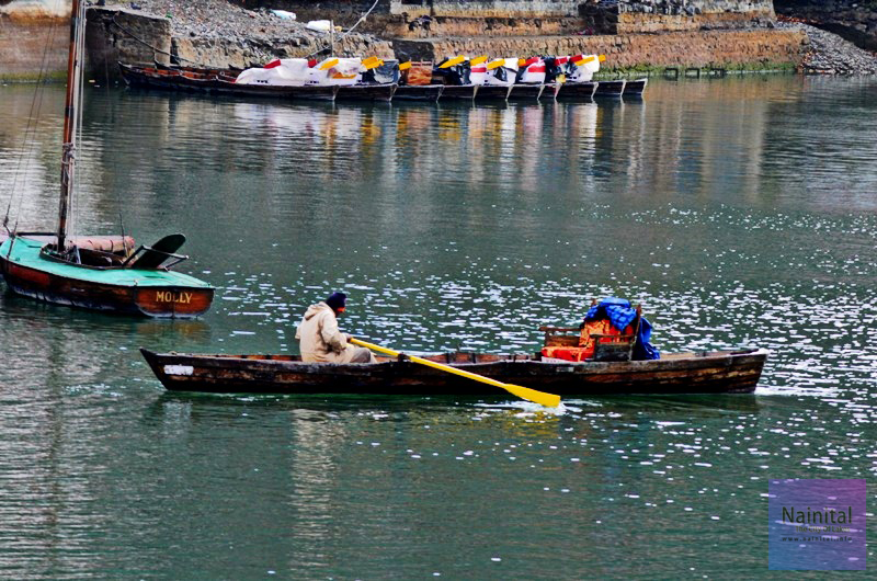 Boatman, Nainital Lake