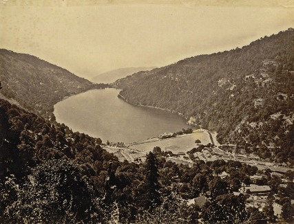 Nainital from the Macnabb Collection - 1885