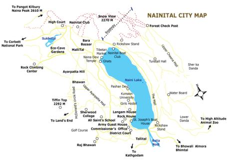 Nainital_Map