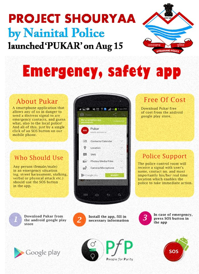 Emergency, Safety App