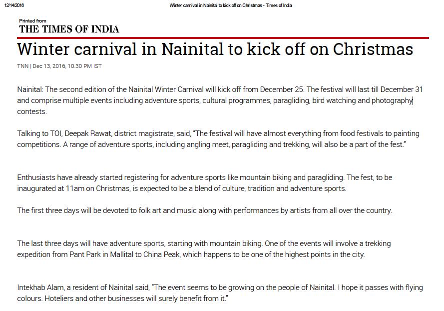 Nainital_Winter_Carnival