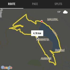 Nainital Monsoon Mountain Marathon (8th) – 2017