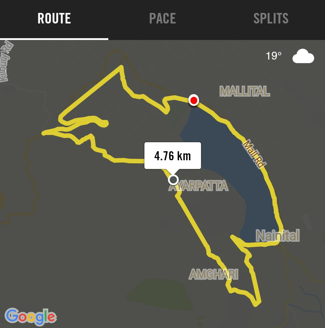 Nainital Monsoon Mountain Marathon (8th) – 2017