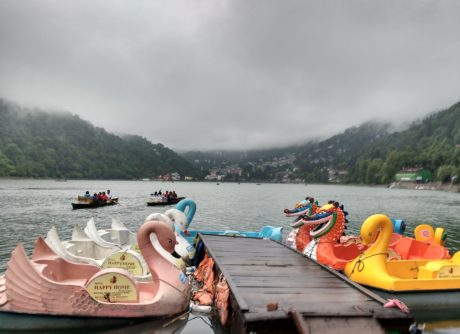 Dragon Shaped Paddle Boat, Nainital, Uttarakhand