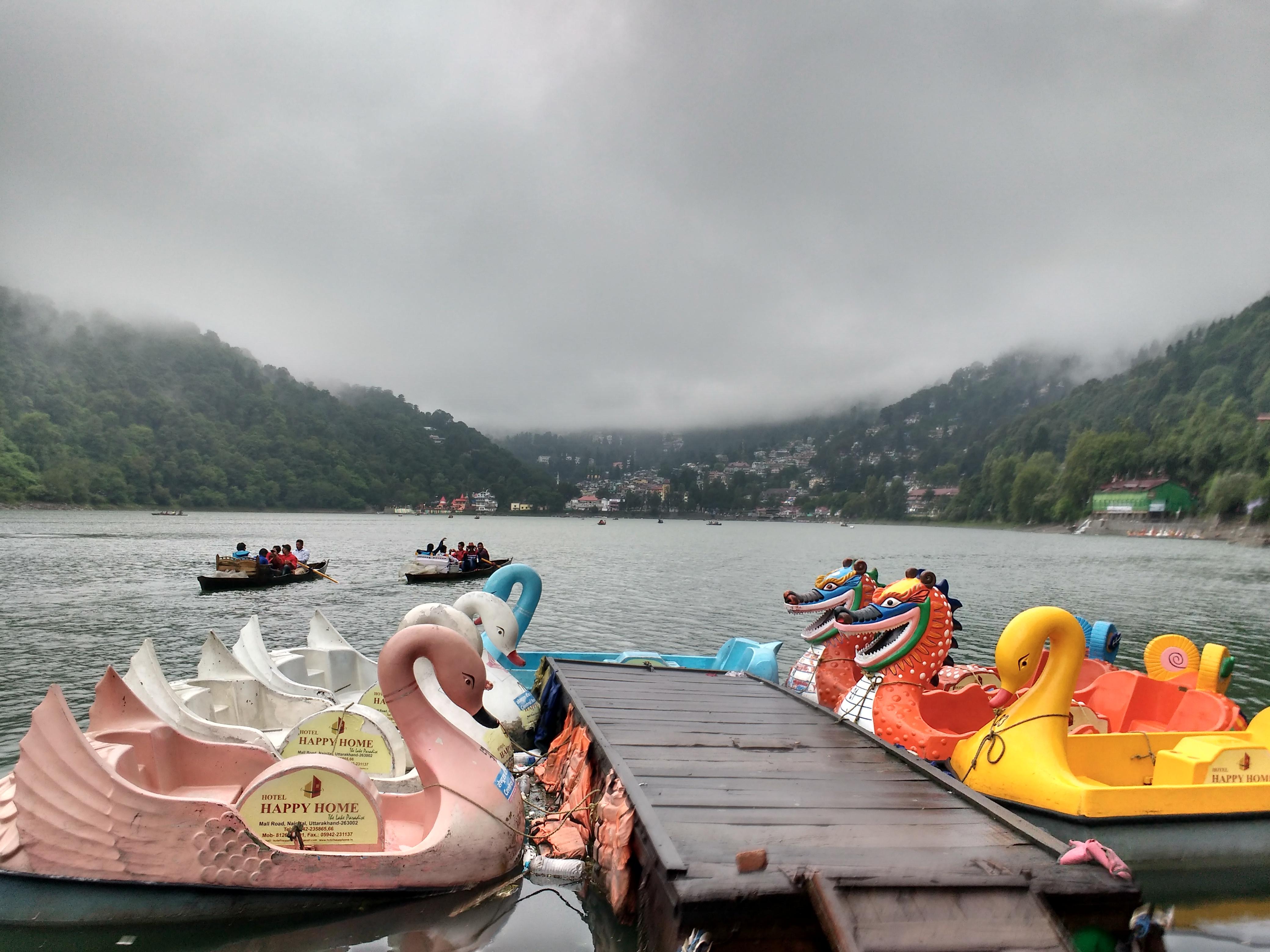 Dragon Shaped Paddle Boat, Nainital, Uttarakhand