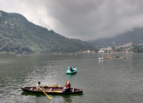 Beautiful Naini Lake, Nainital